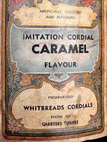 WHITBREADS CORDIALS 1930